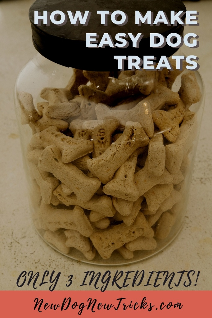 How to Make Easy Dog Treats – Only 3 Ingredients P1